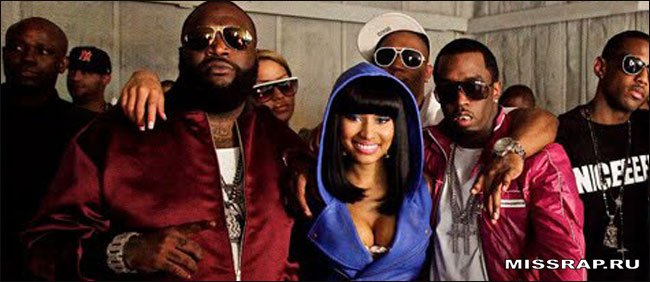 "Rick Ross feat Nicki Minaj – ""You the Boss"""